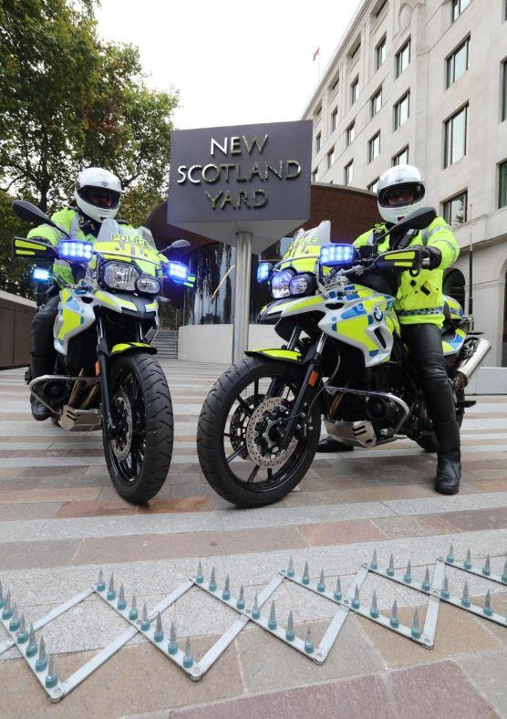 Politie in Londen bindt met PROSpike de strijd aan tegen overvallers